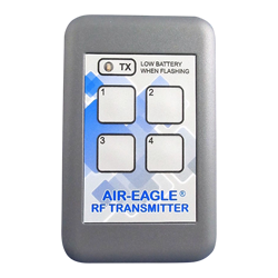 36-HH-4, Air-Eagle SR Plus, 2.4GHz, 600 Ft. Range, Four Button Keypad